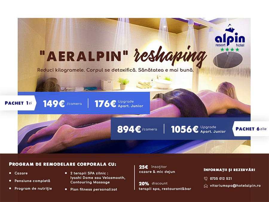 Oferte speciale Vitarium SPA - Alpin Resort & SPA, Poiana Brasov