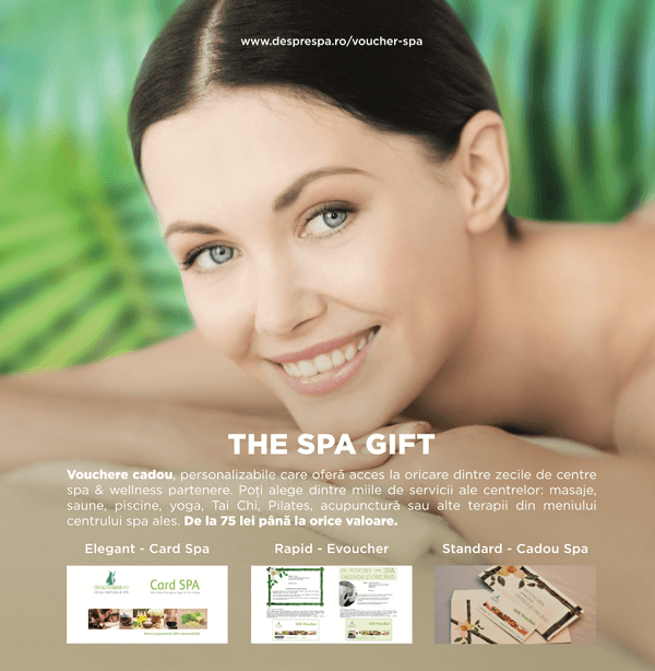 Voucher Spa – cel mai inspirat cadou de Ziua Femeii