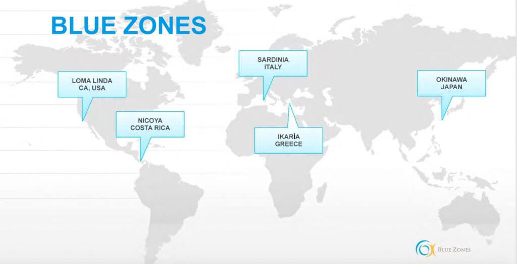 Ce inseamna Well-being - studiu de caz: Blue Zones