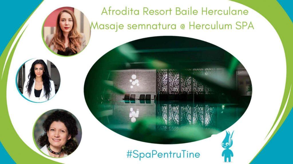 masajele semnatura Herculum SPA Afrodita Baile Herculane