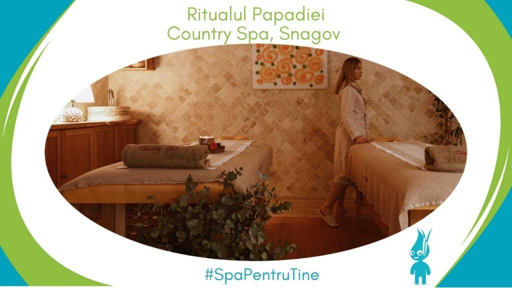 Ritualul Papadiei la Country Spa, Snagov
