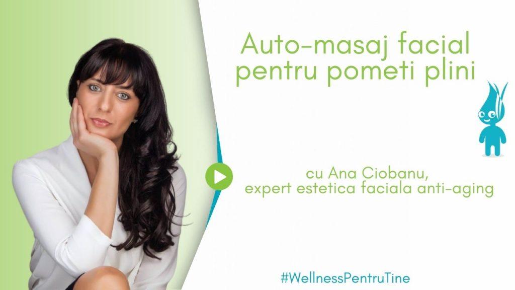 auto-masaj facial pentru pometi plini